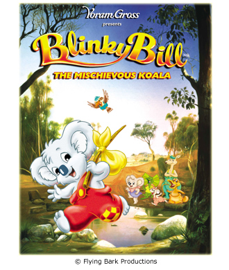 Film Poster for Blinky Bill the Movie..
